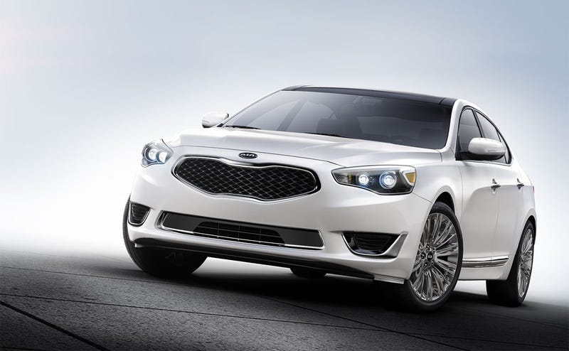 Illustration for article titled The Kia Cadenza is the 5-series for People Who Aren't Shallow