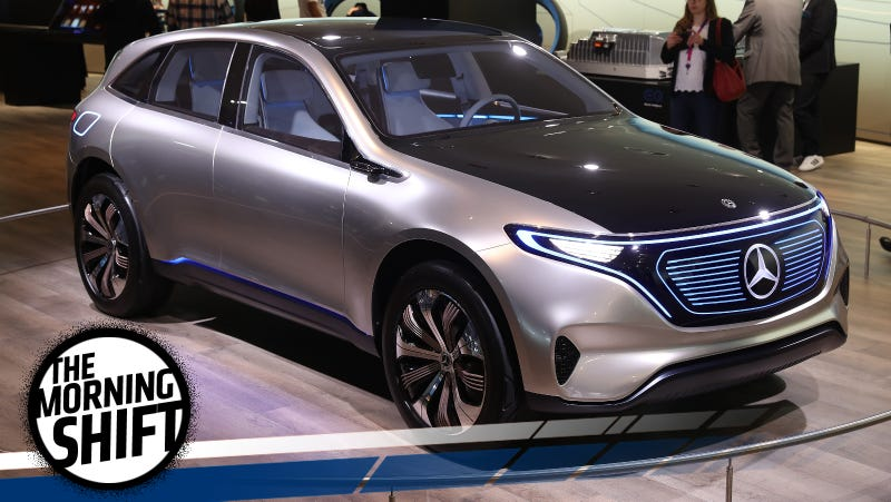 Mercedes Generation EQ concept vehicle. Photo credit: Sean Gallup/Getty Images