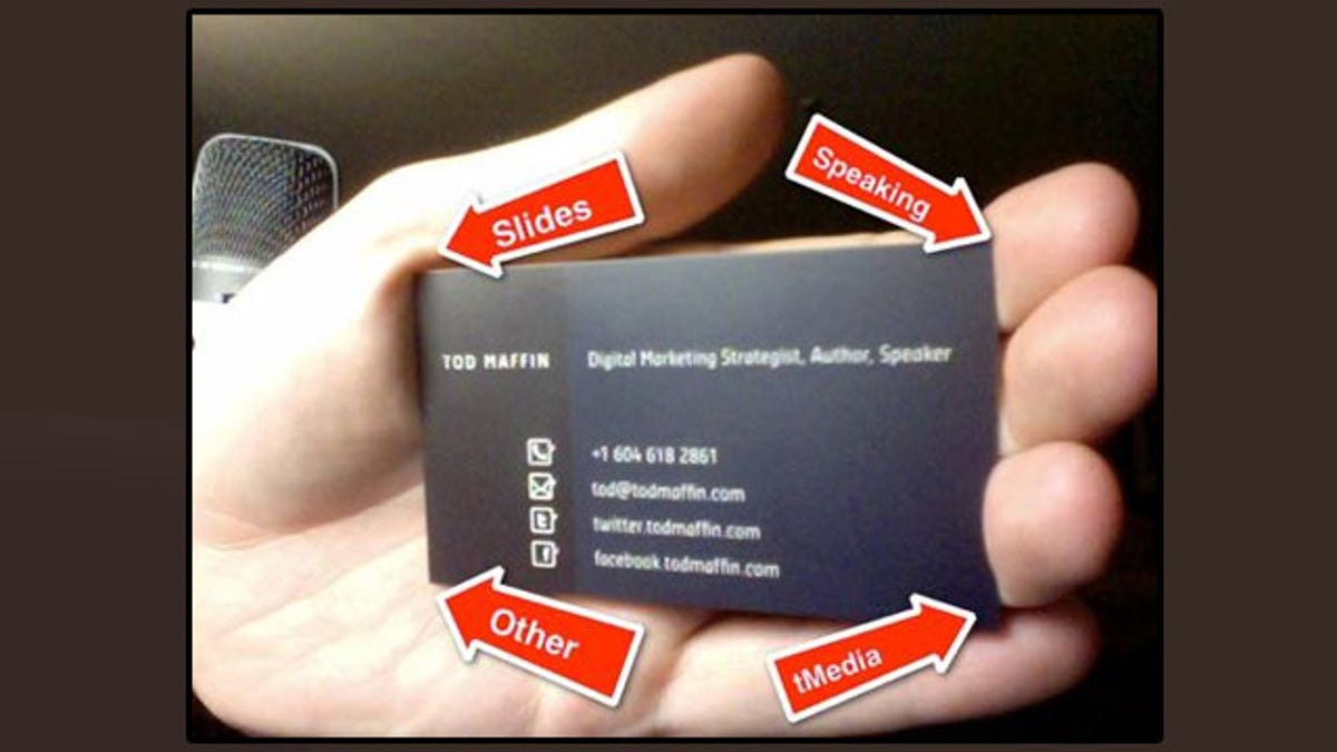 Fold Business Card Corners to Remember How to Follow Up with the Person