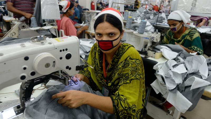 Illustration for article titled Sweatshop Worker Doesn't Even Want To Know Working Conditions Of Place Her Company Gets Fabric