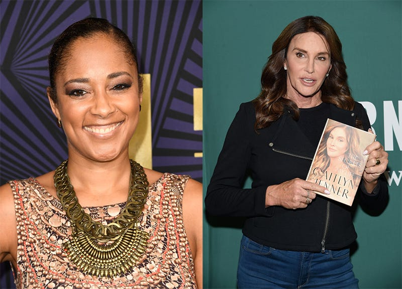 Amanda Seales (Frazer Harrison/Getty Images); Caitlyn Jenner (Jamie McCarthy/Getty Images)