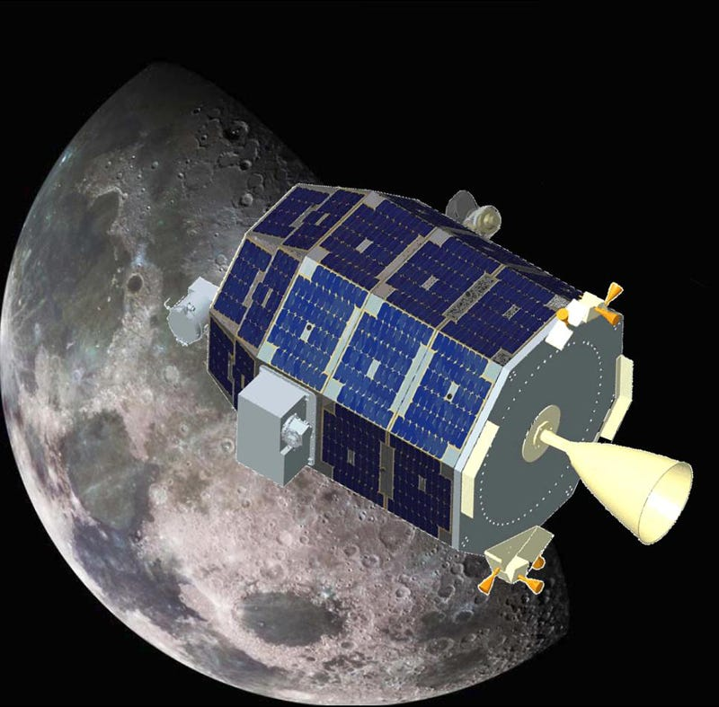Illustration for article titled LADEE is in orbit around the moon!