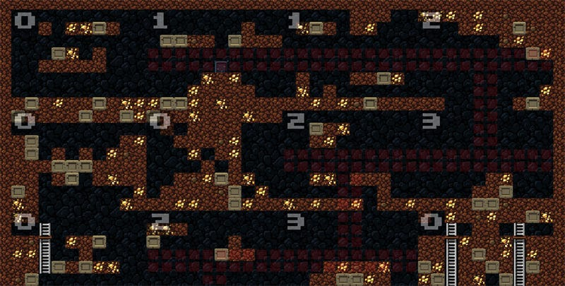 Illustration for article titled See How Spelunky Levels Are Made