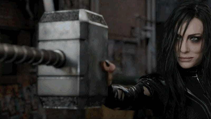 Thor Loses More Than Just His Hammer in the First Trailer for Thor: Ragnarok