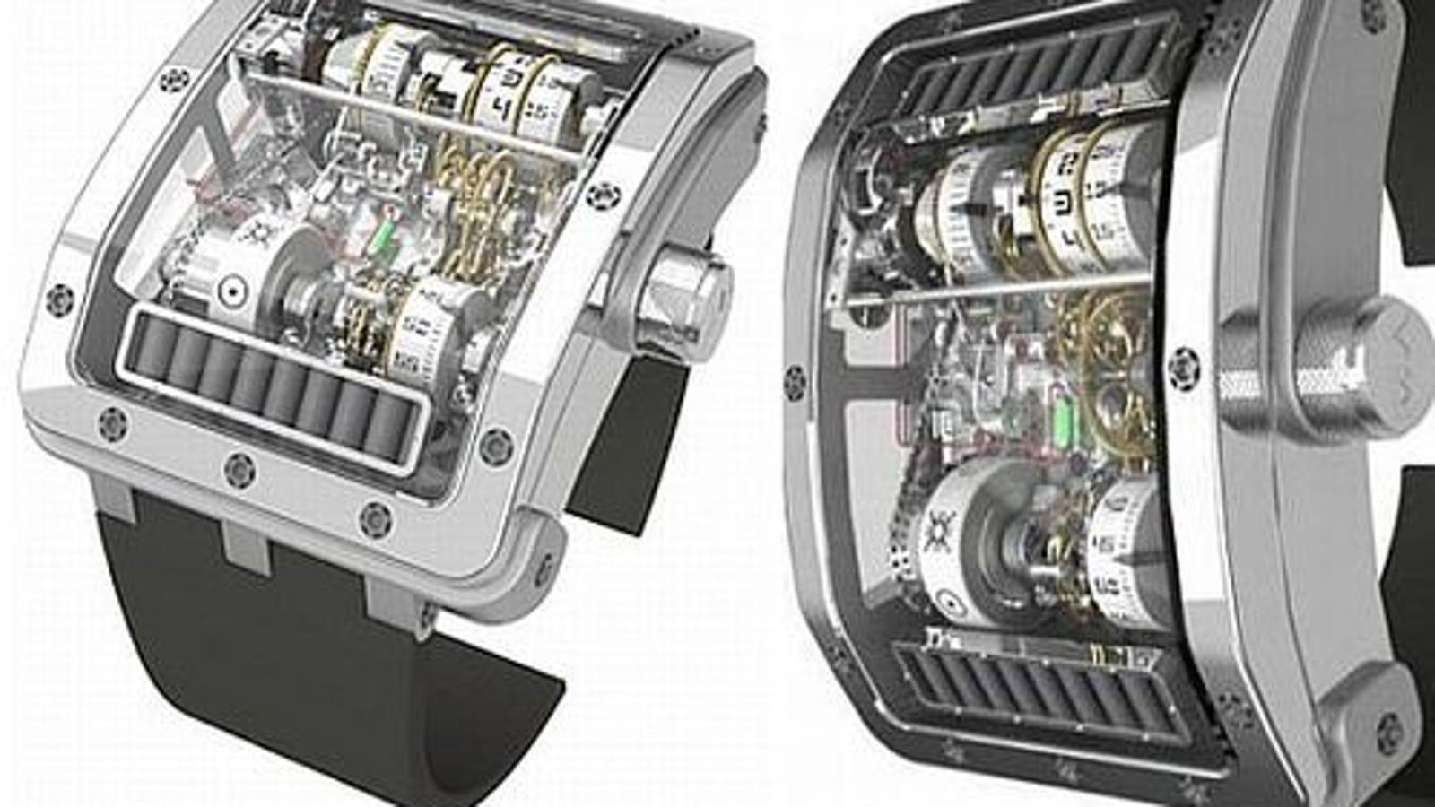 Cabestan Sol Invictus Watch Has Two Solar Panels