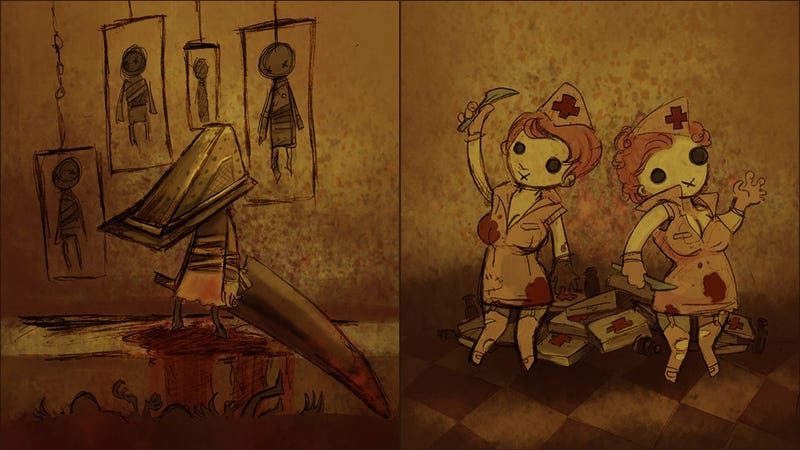 Illustration for article titled This Artist Makes Even The Horrors of Silent Hill Look Surprisingly Cute