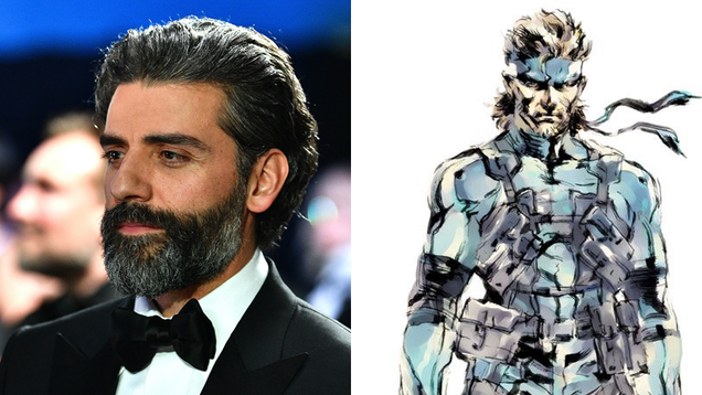 Report: Oscar Isaac Is the Metal Gear Solid Movie s Solid Snake