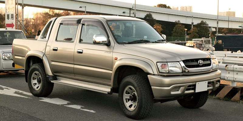 Sixth-generation Toyota Hilux, the final in Japanese Domestic Market.