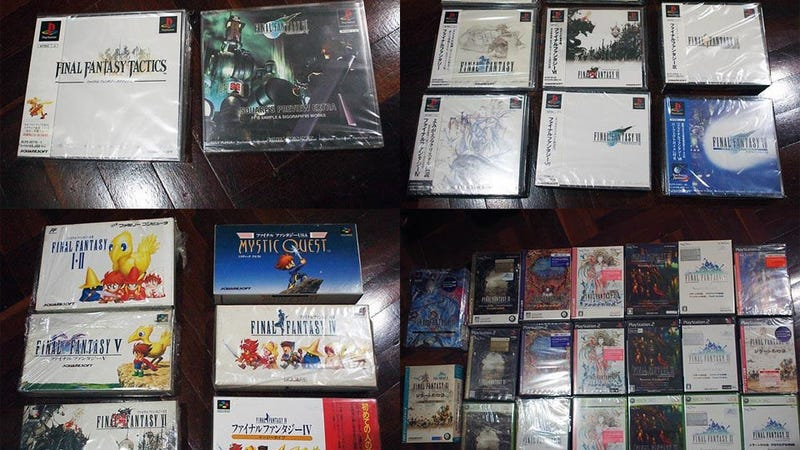 Illustration for article titled You Can Now Buy Almost Every Final Fantasy Game Ever Made (For $15,000)