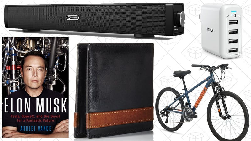 Illustration for article titled Sunday's Best Deals: Fossil Accessories, Diamondback Bikes, PS4 Games, and More