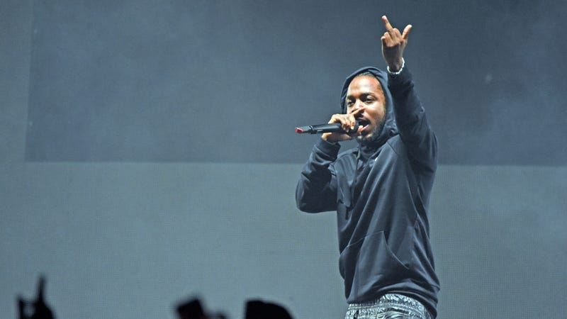 Kendrick Lamar performing in Louisville, KY. (Photo: Stephen J. Cohen/Getty Images)