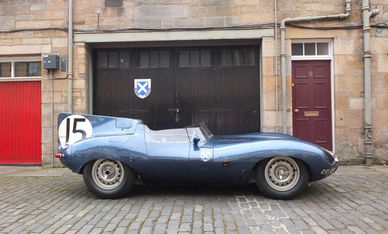 Illustration for article titled Merchiston Mews and the D-Type