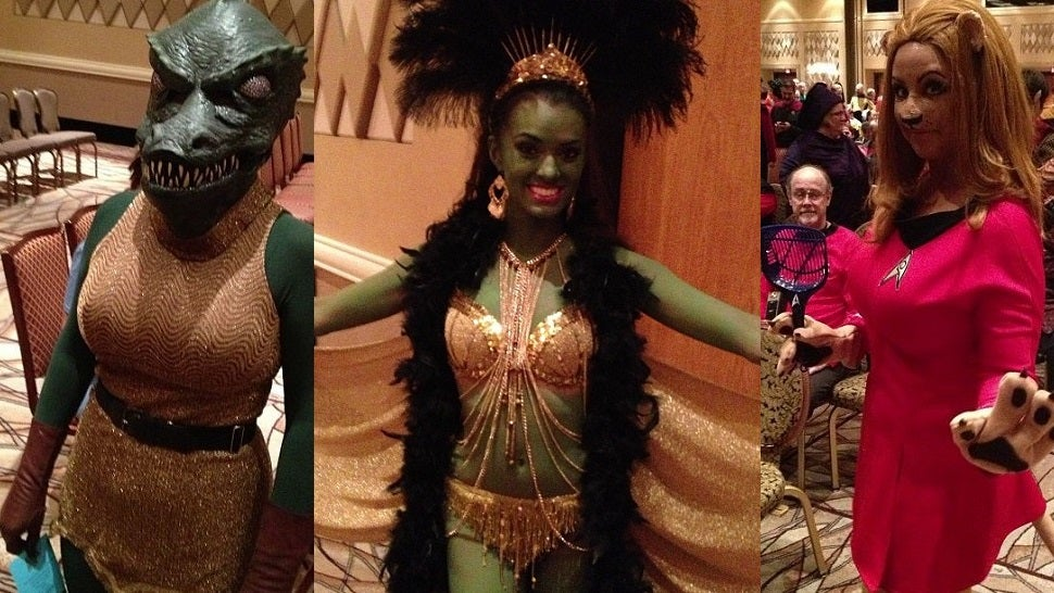 This past weekend over a thousand Star Trek fans dressed in their most creative Star Trek costumes at Star Trek Las Vegas. And just like last year ...  sc 1 st  io9 - Gizmodo & The Greatest Star Trek Cosplay of the Year