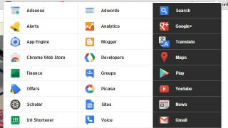 Illustration for article titled Black Menu Puts Google Shortcuts in Your Toolbar, Is Way Better Than Google's Menu