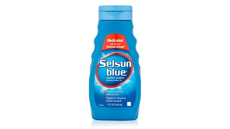 Illustration for article titled Corporate Hubris: After Successfully Defeating Dandruff, Selsun Blue Has Announced It's Going After Cancer Next