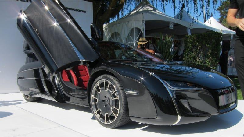 Illustration for article titled McLaren X1: Pure Car Porn