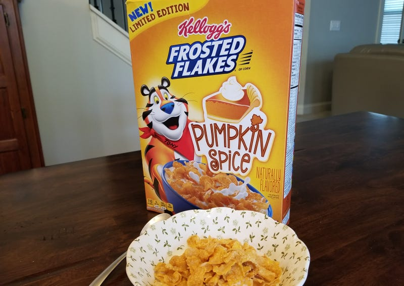 Illustration for article titled I'm Conflicted About Pumpkin Spice Frosted Flakes