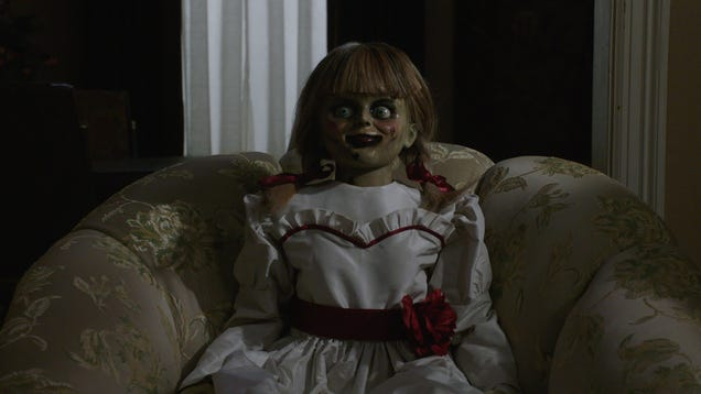 Chicago, stare into the glassy eyes of Annabelle Comes Home early and for free