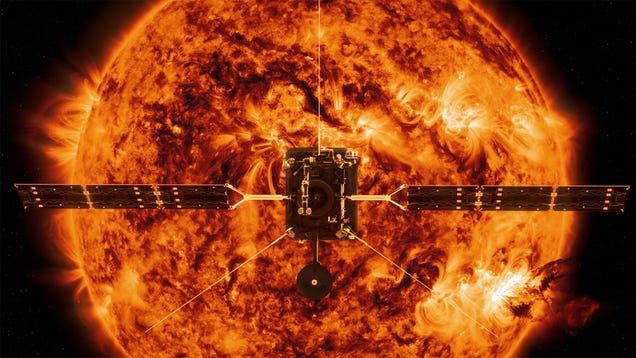 Solar Orbiter Is About to Reach the Far Side of the Sun