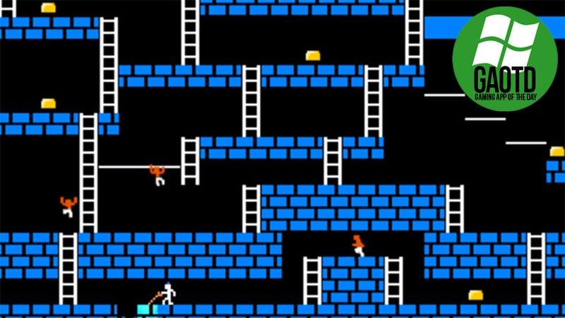 Illustration for article titled Nearly Thirty Years Old and Lode Runner is Still Kicking My Ass