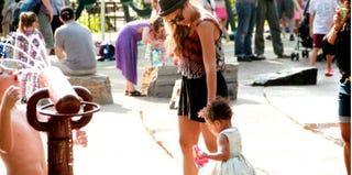 Beyonce and Blue Ivy Carter. (Beyonce's Tumblr)