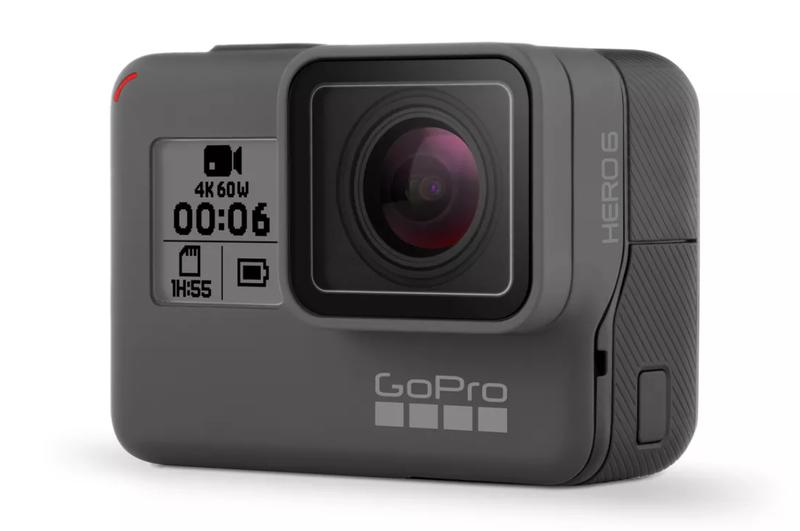 Illustration for article titled La nueva GoPro Hero 6 Black es una pequeña bestia capaz de grabar vídeo 4K a 60fps o cámara lenta en 1080p
