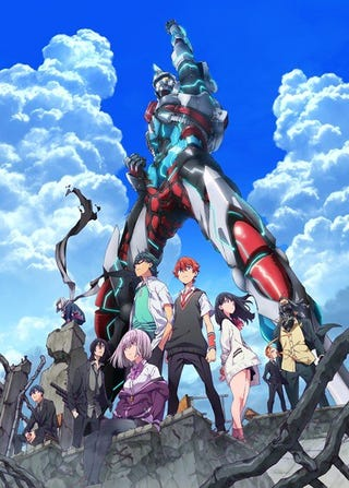 Illustration for article titled Here it is the new promo of the anime of SSSS.Gridman
