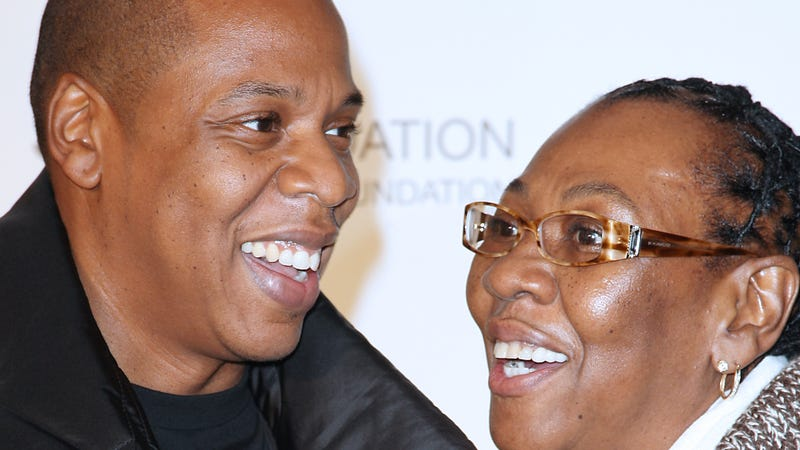 Jay-Z and Gloria Carter in 2011. Image via AP