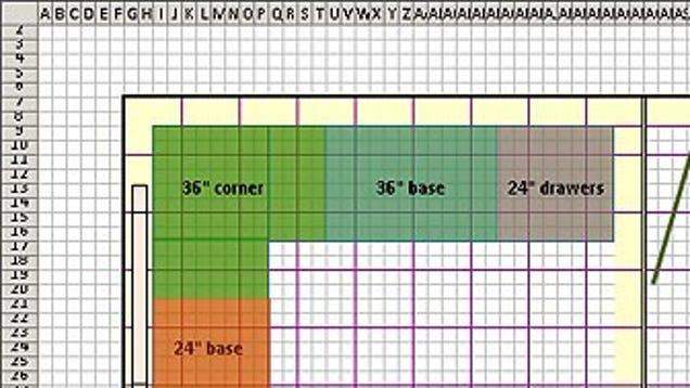 Warehouse Floor Plan Template: Design Floor Plans With Excel