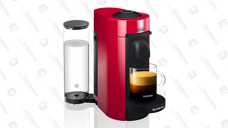 Nespresso VertuoPlus Coffee and Espresso Maker by De'Longhi | $99 | Amazon