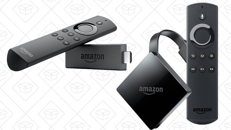 Fire TV | $45 | Amazon | Prime members onlyFire TV Stick | $25 | Amazon | Prime members only