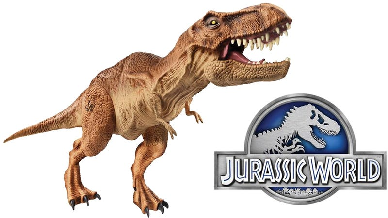 Illustration for article titled Even If Jurassic World Sucks, At Least We Get More T-Rex Toys