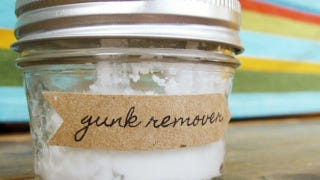 Remove Stubborn Stickers and Glue with Coconut Oil and Baking Soda