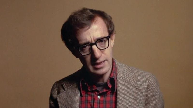 Illustration for article titled Read This: Woody Allen's views on marriage are distressingly clueless
