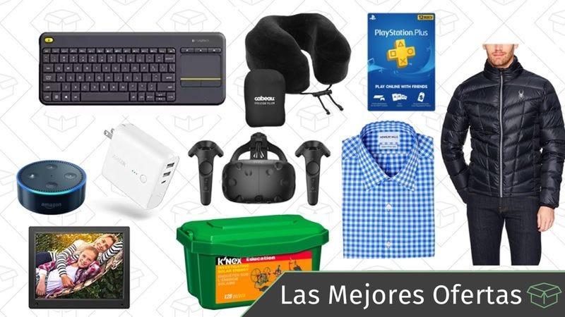 Illustration for article titled Las mejores ofertas de este lunes: Gold Box de Logitech, accesorios de viajes, dispositivos de Amazon y más