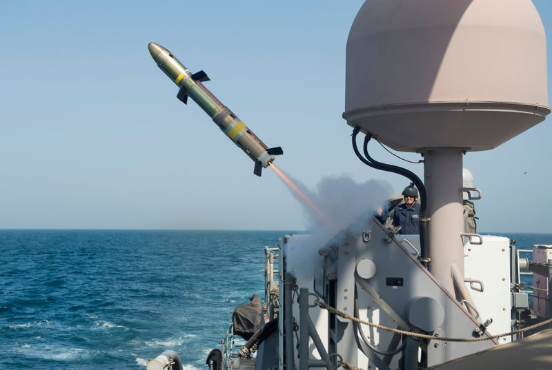 Illustration for article titled The Navy's Little Missiles Could Be Popping Up In Many More Places