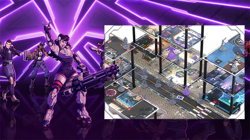 Illustration for article titled Agents Of Mayhem Gets A Second Chance As A Board Game