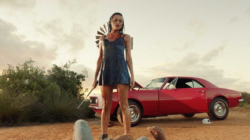 Christina Ochoa in Blood Drive (Photo: Syfy)