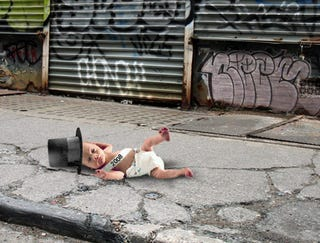 Illustration for article titled Baby New Year Abandoned In Street