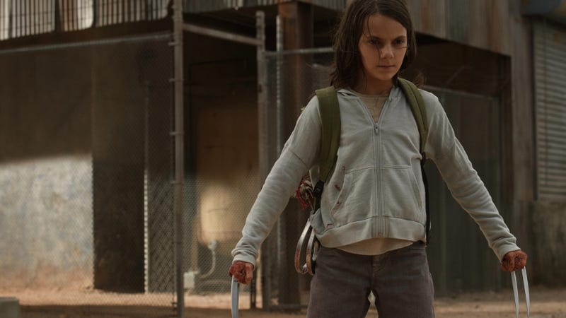 Dafne Keen, seen here in Logan, will star in His Dark Materials.