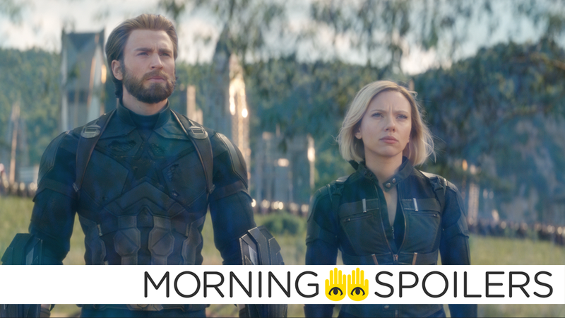 Cap and Nat could have some different new looks in Avengers 4.