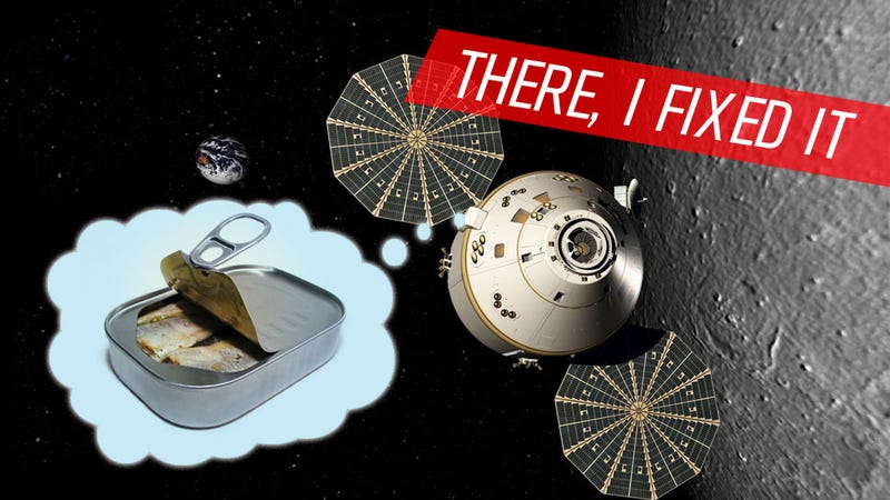 Illustration for article titled This Is How To Solve The Biggest Problem With America's New Spacecraft