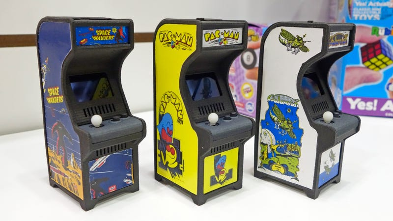 Playing Retro Games on These Tiny Arcade Cabinets Is Still More ...