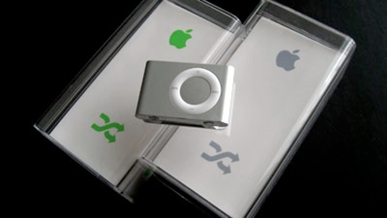 wireless dj style headphones - Get the Latest iPod shuffle Earbuds: Telling the Old Box vs. the New