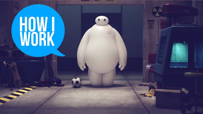 Illustration for article titled I'm Hank Driskill, Tech Supervisor of Big Hero 6, and This is How I Work