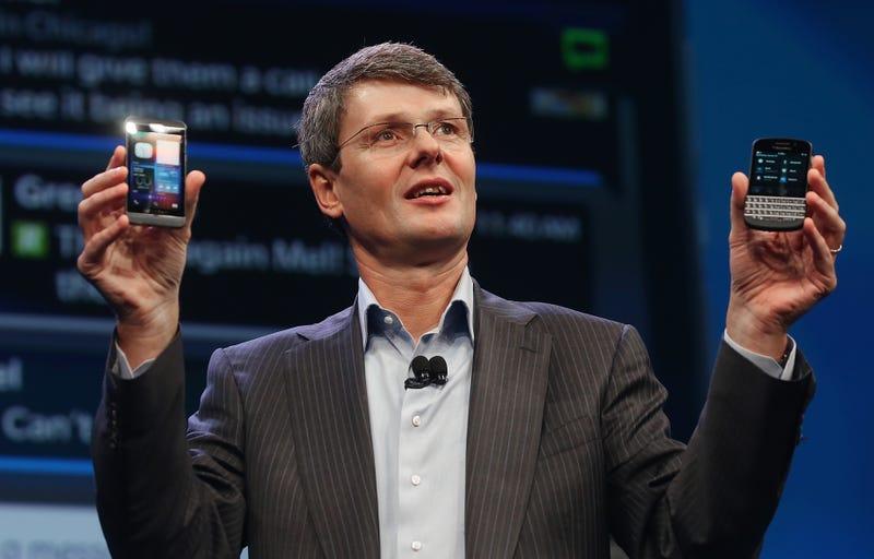 Illustration for article titled BlackBerry admite estar estudiando una posible venta de la compañía
