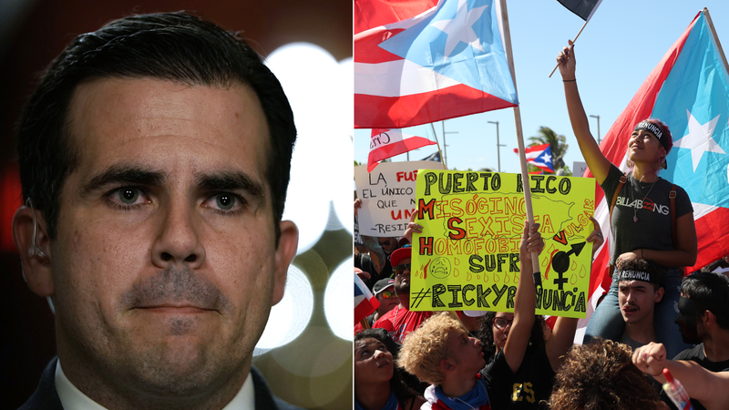 Illustration for article titled Why You Need to Know About Puerto Rico's Protests and Governor Ricardo Rosselló