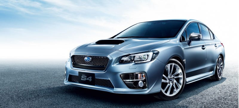 Illustration for article titled Here Is The 2015 Subaru WRX They Named After An Audi