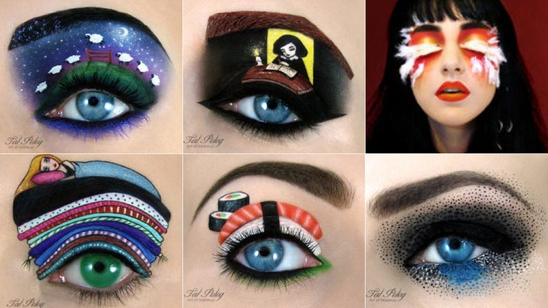 Illustration for article titled This Eye Makeup Art Is BLOWING MY MIND