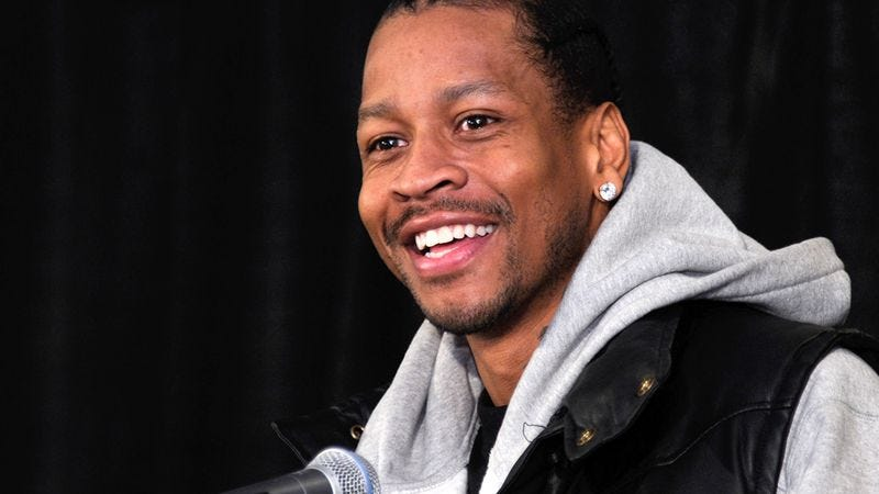 Illustration for article titled Allen Iverson: 'You Hear That, Everybody? We're Coming Back! All Of Us!'